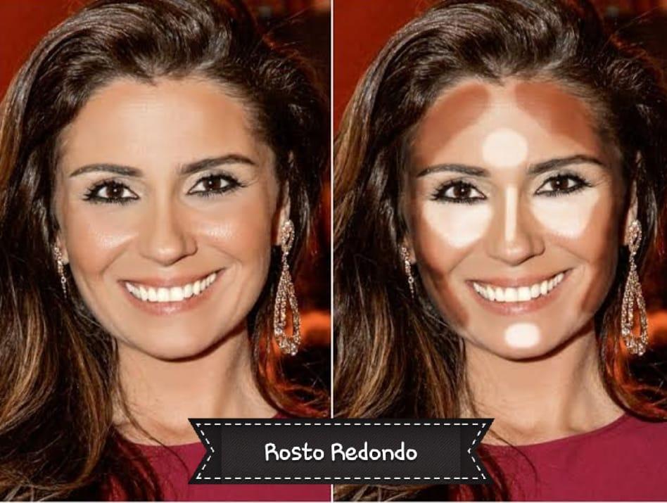 8b3eb64f04038 Formatos de rosto na Maquiagem onde contornar e iluminar – Aline ...